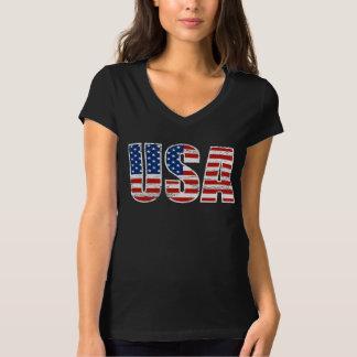 Vintages USA-Flaggen-Kleid T-Shirt