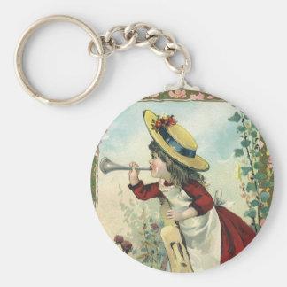 Vintages viktorianisches Kind, Schlüsselanhänger