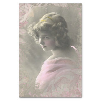 Vintages viktorianisches seidenpapier