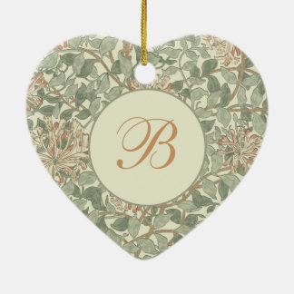 Vintages weiches mit Blumengirly Keramik Ornament