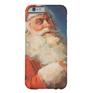 Vintages Weihnachten, freche Nizza Liste Barely There iPhone 6 Hülle