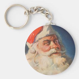 Vintages Weihnachten, freche Nizza Liste Schlüsselanhänger