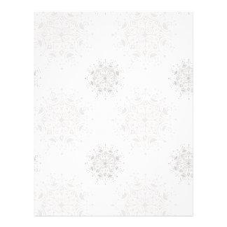 Vintages Weihnachten, Schneeflocke-Blizzard-Muster Flyer