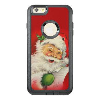 Vintages Weihnachtsmann-Weihnachten OtterBox iPhone 6/6s Plus Hülle