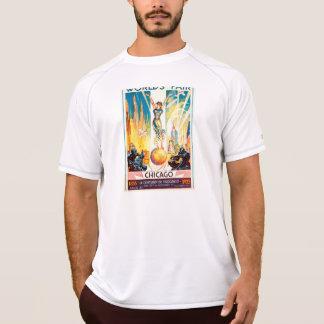 Vintages Weltmesse-Chicagoplakat 1933 T-Shirt