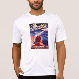 Vintages Weltmesse-New Yorkplakat 1939 T-Shirt