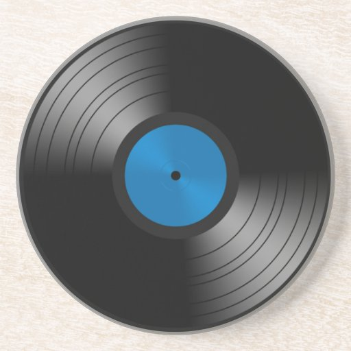 Vinyl Platte Bierdeckel