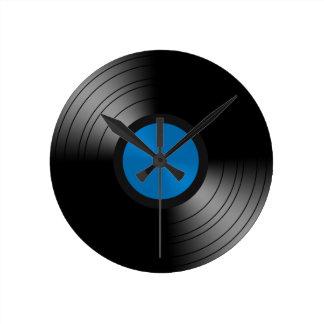 Vinyl Platte Wanduhren
