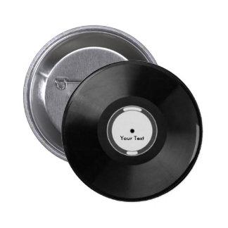 Vinyl Record Anstecknadelbutton