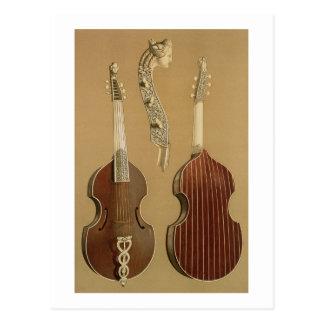 Viola-DA-Gambe oder Bass-viol, durch Joachim Postkarte