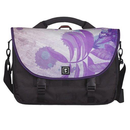 Violet flower sacoche ordinateurs portables