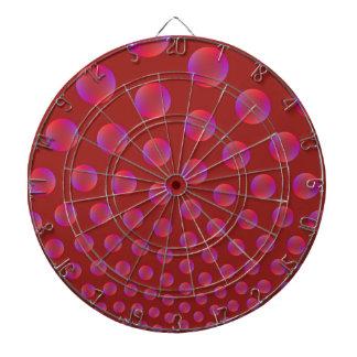Violett und Rot sprudelt Dartboard Dartscheibe