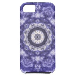 Violette blaue Spitze Tough iPhone 5 Hülle