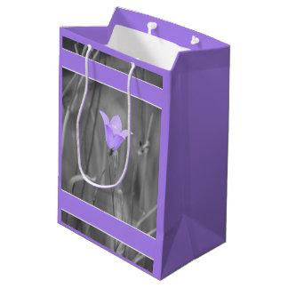 Violette blaue Wildblume des Bluebell-(Harebell) Mittlere Geschenktüte