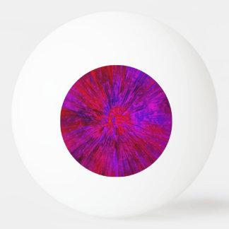 Violette gefärbte Krawatte Tischtennis Ball