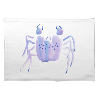 Violette Krabbe Stofftischset