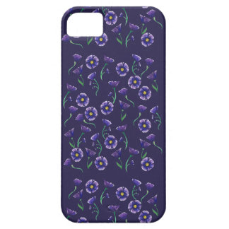 Violette lila Blume Barely There iPhone 5 Hülle