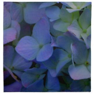 Violette lila Hydrangeas Serviette