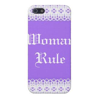 Violette ` n Spitze iPhone 5 Schutzhülle