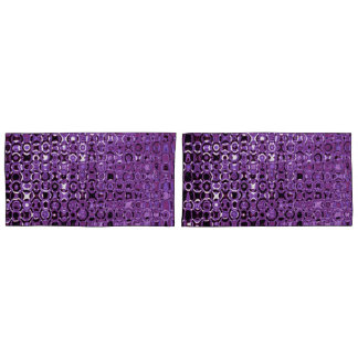Violette Turbulenz-Paare Kissenbezüge