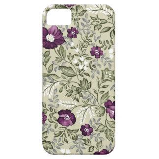 Violetter Blumenentwurf Etui Fürs iPhone 5