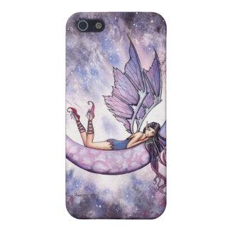 Violetter feenhafter Fantasie-Kunst iPhone Kasten iPhone 5 Cover