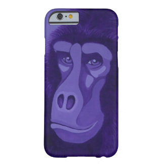 Violetter Gorilla-Kasten Barely There iPhone 6 Hülle
