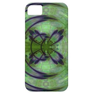 Violetter Kimono-Mond Hülle Fürs iPhone 5