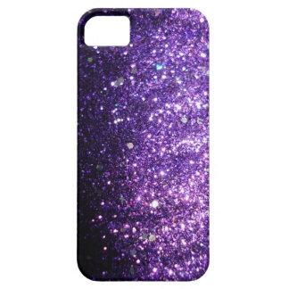 Violetter lila iPhone Schein-Glitzer-Kasten iPhone 5 Etuis