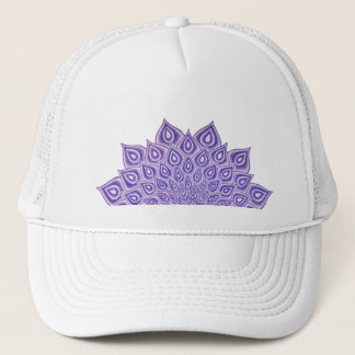 Violetter Lotus-Krone Chakra Truckerkappe