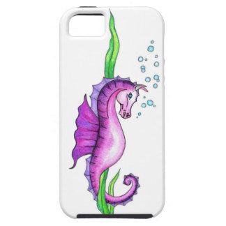 Violettes Wasser-Pferd iPhone 5 Cover