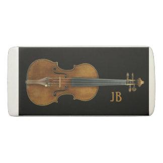 Violine durch Stradivari mit kundenspezifischen Radiergummi 1