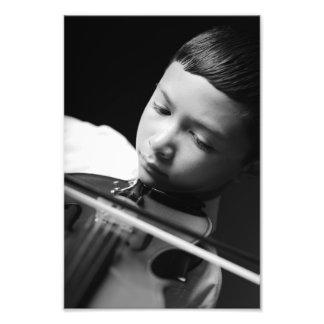 Violine Fotodruck
