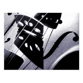Violinen-Postkarte Postkarte