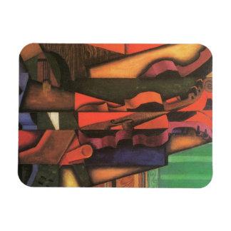 Violon et guitare par Juan Gris, cubisme vintage Magnets