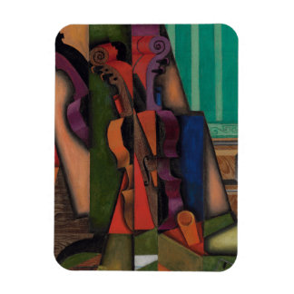 Violon et guitare par Juan Gris Magnet Souple