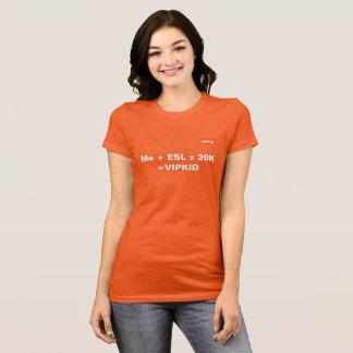 VIPKID Gleichungs-T - Shirt (orange)