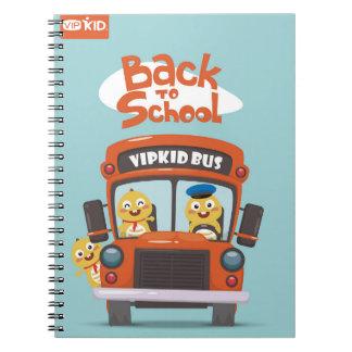 VIPKID zurück zu Schulnotizbuch 2 Notizblock