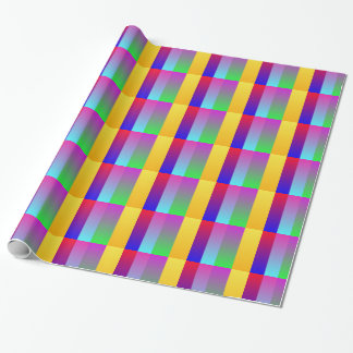 Virbrant multi Farbe Geschenkpapier