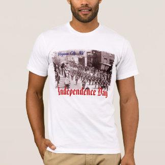 Virginia City 4. des Shirts der Juli-Parade-Männer