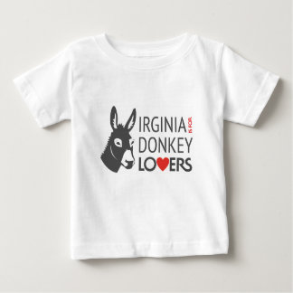 Virginia ist für Esel-Liebhaber Baby T-shirt