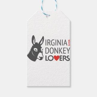 Virginia ist für Esel-Liebhaber Geschenkanhänger