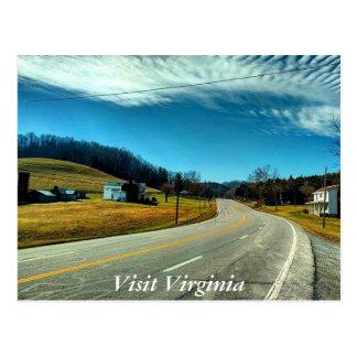 Virginia-Postkarte 3 Postkarte