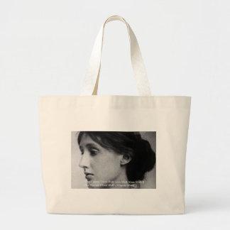 Virginia Woolf speisen/Liebe-wohle Jumbo Stoffbeutel