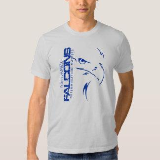 Visage de faucon t shirts