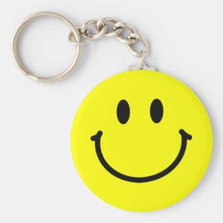 Visage heureux Keychain