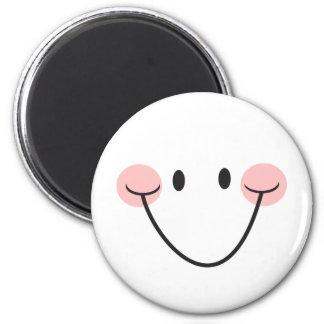 Visage heureux ou aimant souriant mignon