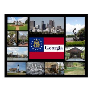 Visionen von Georgia Postkarte