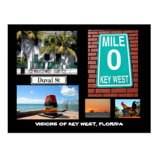 Visionen von Key West, Florida Postkarten
