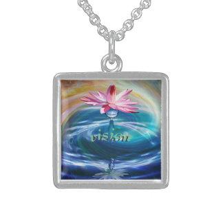 Visions-Absicht Sterling Silberkette